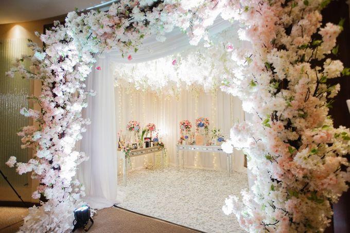 The Wedding of Raymoon Anjelina by The Swan Decoration - 025