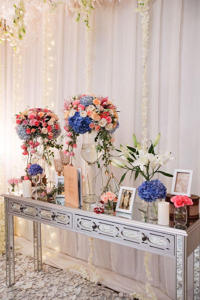 The Wedding of Raymoon Anjelina by The Swan Decoration - 005