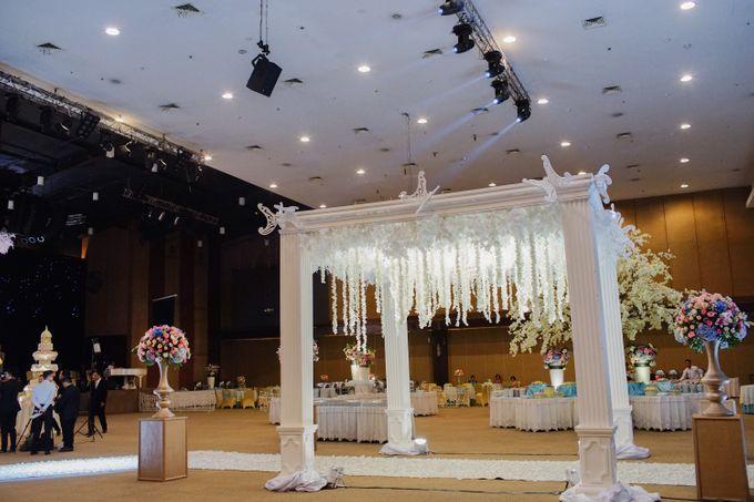 The Wedding of Raymoon Anjelina by The Swan Decoration - 038