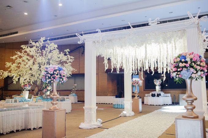 The Wedding of Raymoon Anjelina by The Swan Decoration - 039