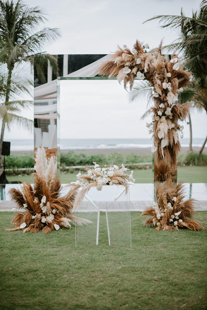 The Wedding of Prika and Bianda by Delapan Bali Event & Wedding - 006