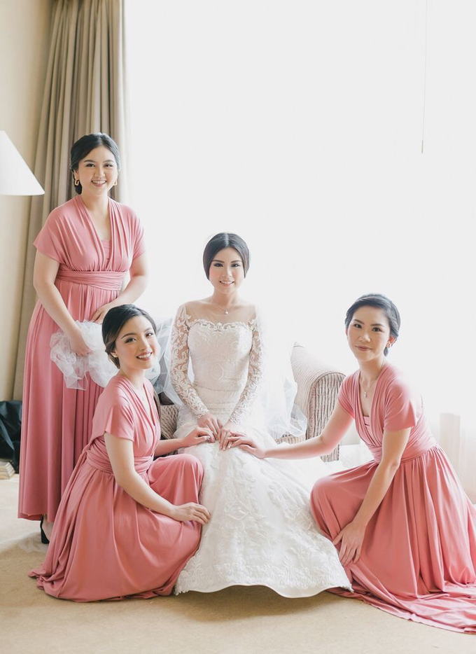 Wedding of Nicholas & Monica (JW Marriott) by JW Marriott Hotel Jakarta - 023