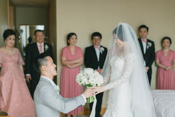 Wedding of Nicholas & Monica (JW Marriott) by JW Marriott Hotel Jakarta - 032