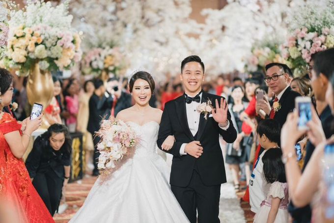 Wedding of Nicholas & Monica (JW Marriott) by JW Marriott Hotel Jakarta - 041