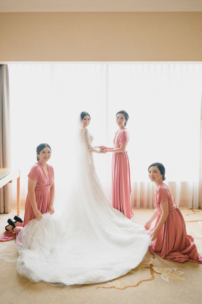 Wedding of Nicholas & Monica (JW Marriott) by JW Marriott Hotel Jakarta - 046