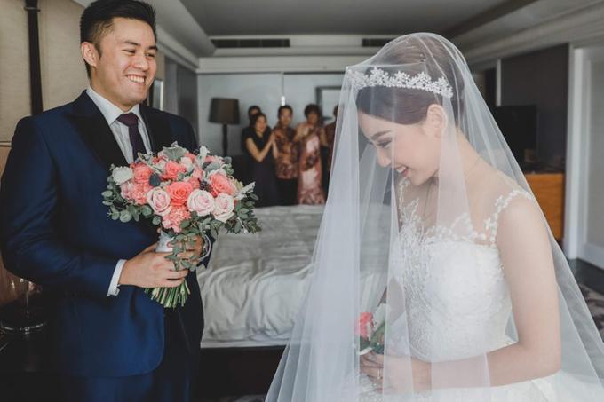 Wedding of Indra & Elaine (Kempinski) by Hotel Indonesia Kempinski Jakarta - 015
