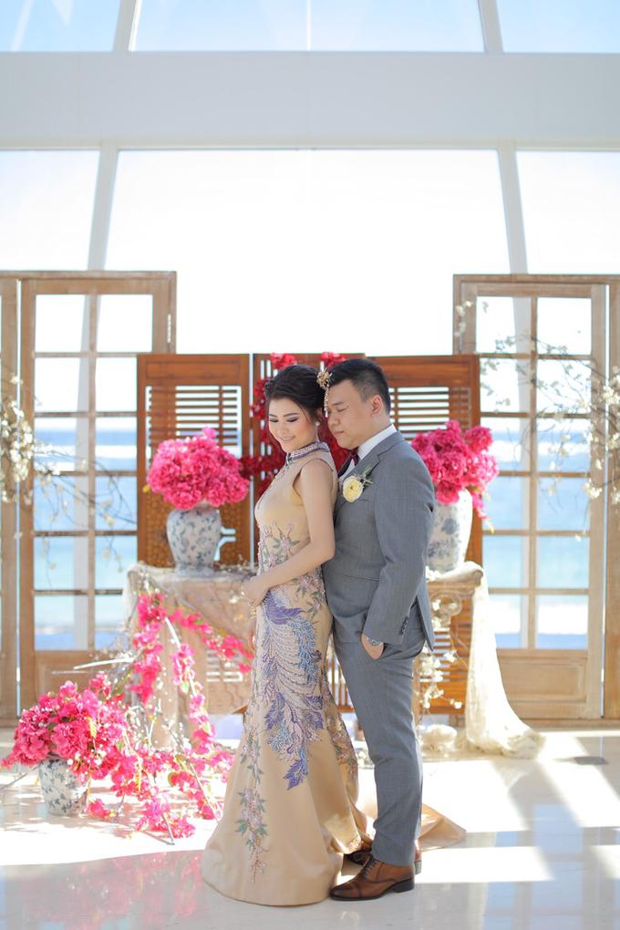 Wedding of Feliks & Vinchi (Ritz Carlton Bali) by DONNY LIEM The Make Up Art - 006