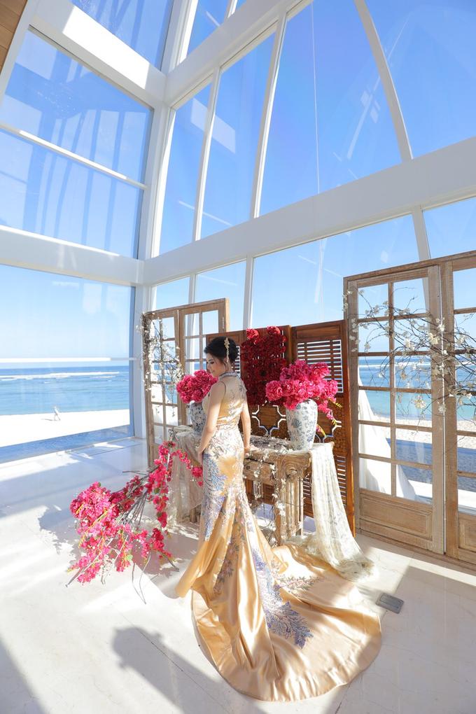 Wedding of Feliks & Vinchi (Ritz Carlton Bali) by DONNY LIEM The Make Up Art - 007