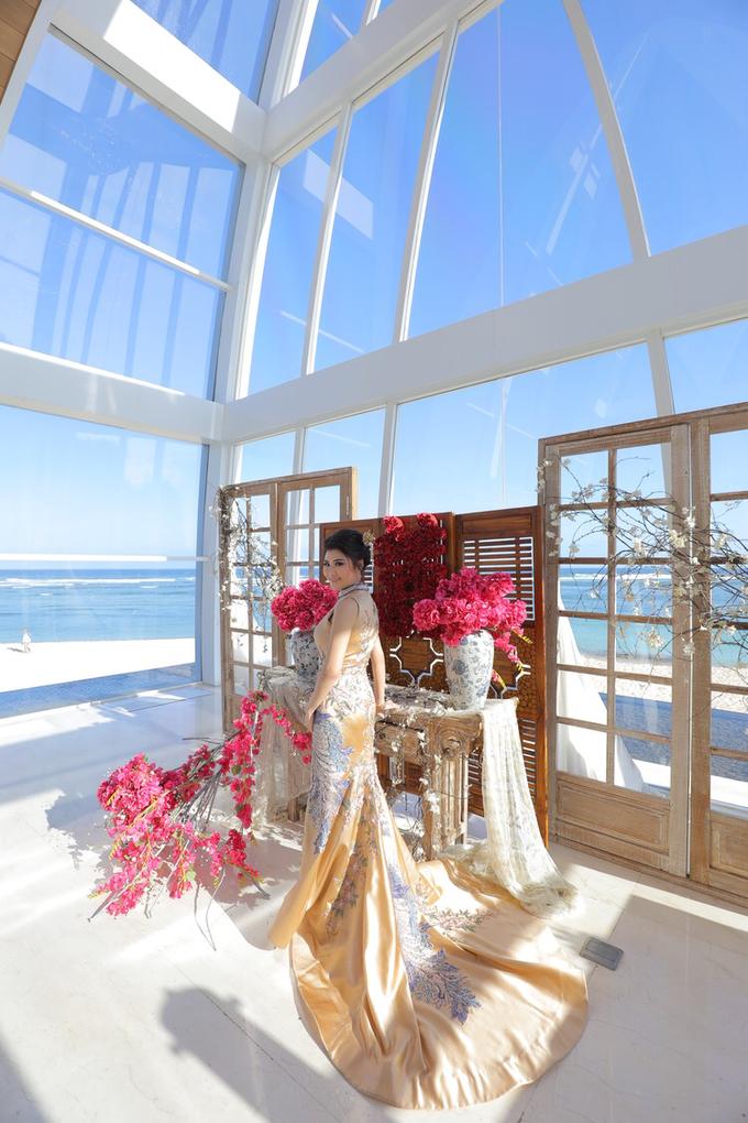 Wedding of Feliks & Vinchi (Ritz Carlton Bali) by DONNY LIEM The Make Up Art - 008