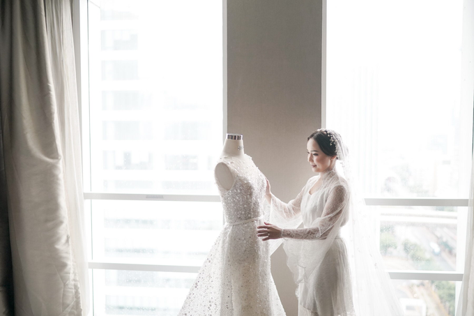 Wedding Iwan & Monika (JS Luwansa) by Delfi Organizer - 005