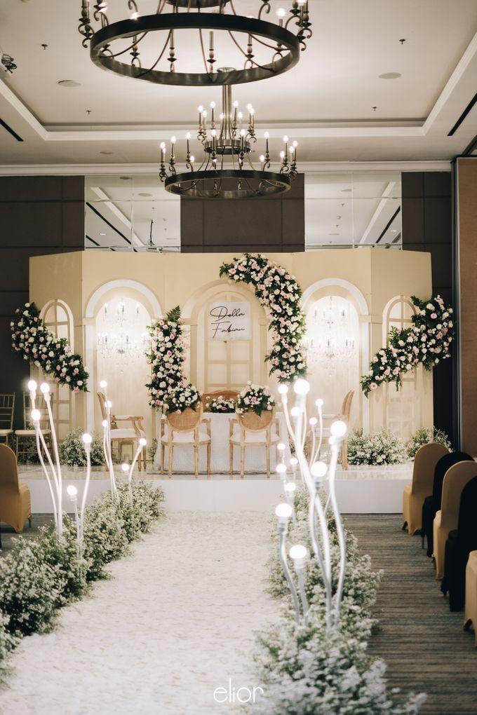 The Wedding Of Della and Fabian by Elior Design - 002