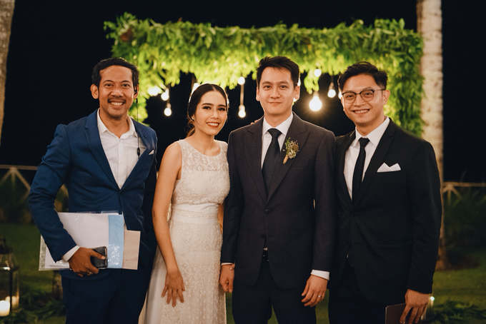 Bali - MC for the Wedding of Asa & Adrian by Wong Hang Distinguished Tailor - 001