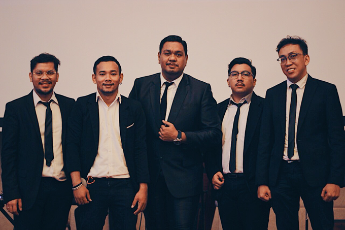 MC & Band for Aldy & Windy by The Palms Ballroom - 006
