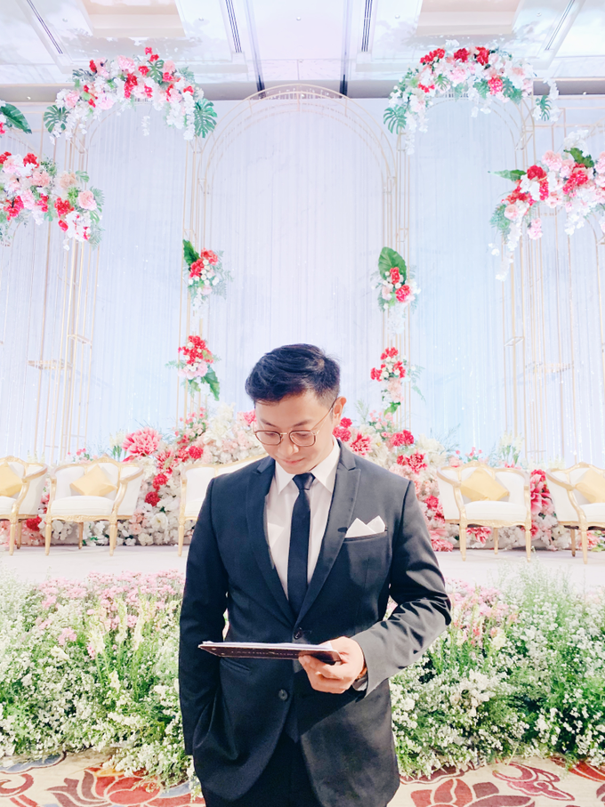 Fairmont Jakarta - Wedding of Arnold & Lyvia by Demas Ryan & Lasting Moments Entertainment - 003