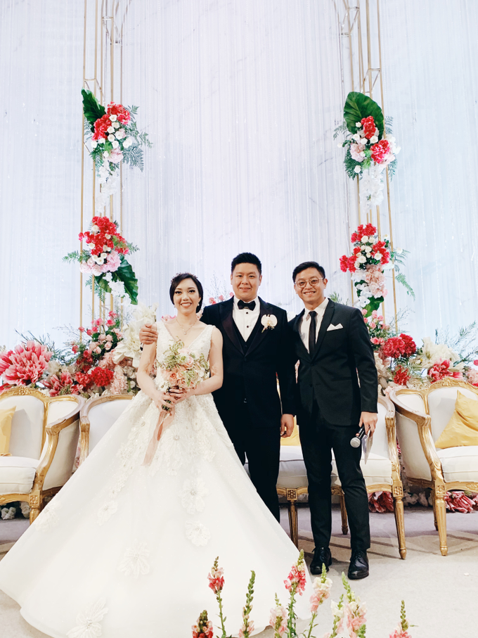Fairmont Jakarta - Wedding of Arnold & Lyvia by Demas Ryan & Lasting Moments Entertainment - 008