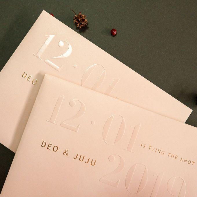 Deo & Juju by Meltiq Invitation - 003