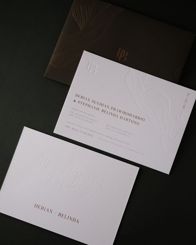 CONTEMPORARY GREENERY by BloomingDays Invitation Studio - 004