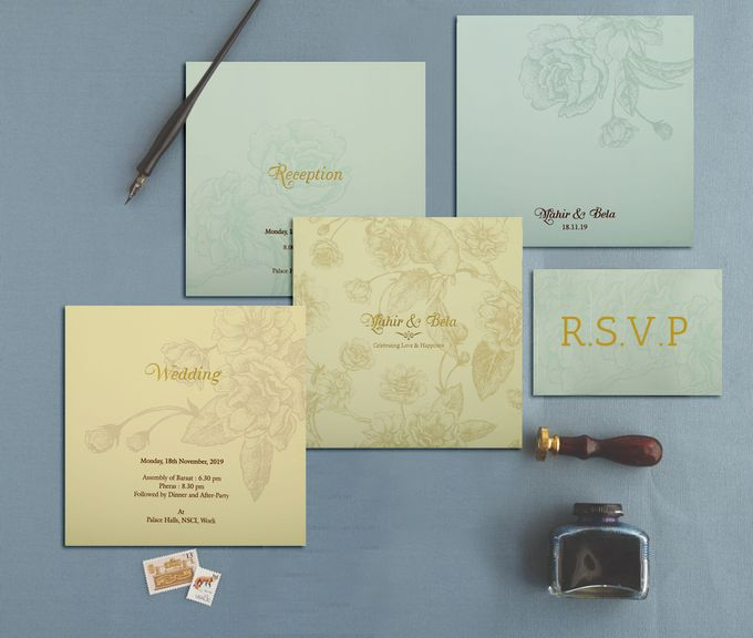 Flat 40 Percent of On Invitatons by IndianWeddingCards - 002