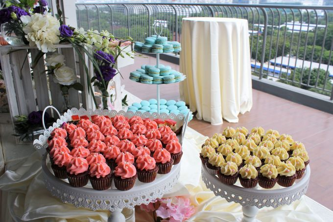 Rustic Wedding Dessert Table by Manna Pot Catering - 007