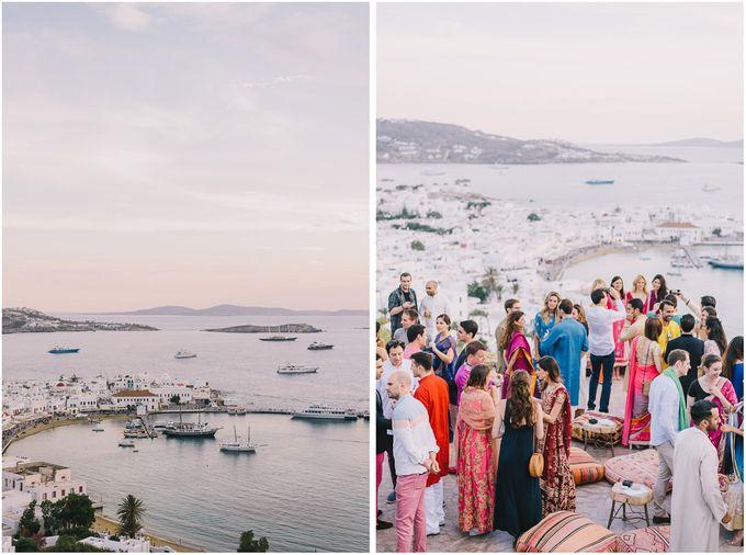 Wedding in Mykonos by Elias Kordelakos - 004