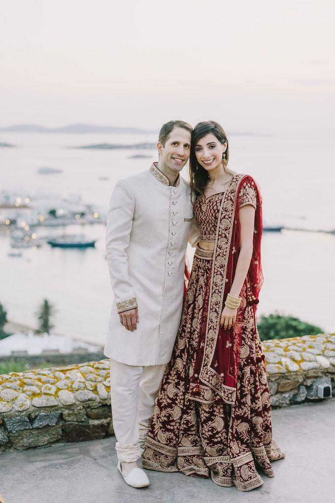 Wedding in Mykonos by Elias Kordelakos - 006