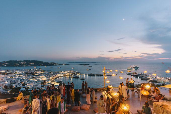 Wedding in Mykonos by Elias Kordelakos - 008