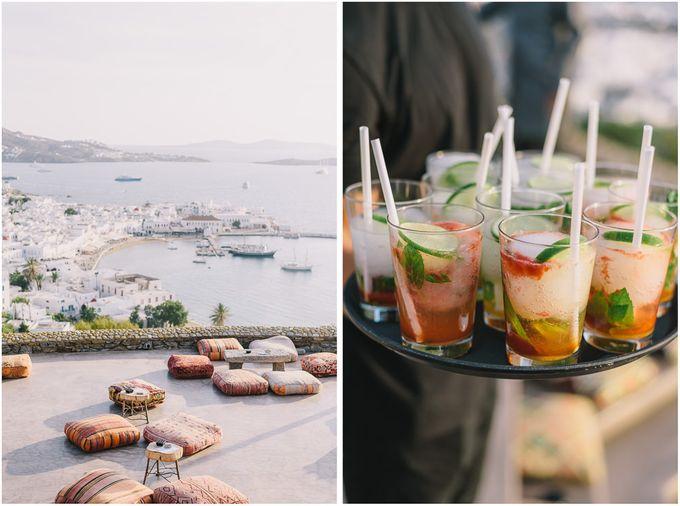Wedding in Mykonos by Elias Kordelakos - 002