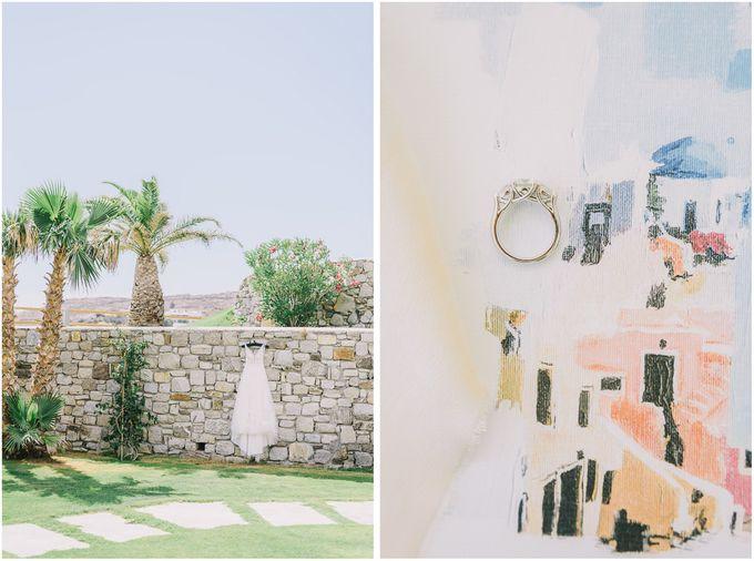Wedding in Mykonos by Elias Kordelakos - 016
