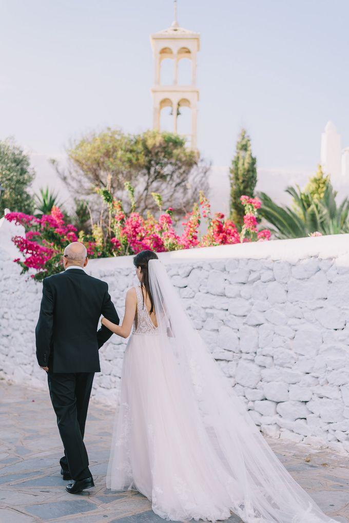 Wedding in Mykonos by Elias Kordelakos - 024