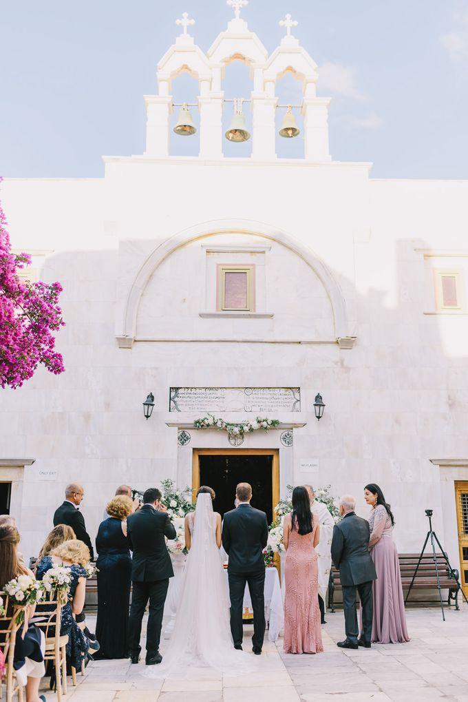 Wedding in Mykonos by Elias Kordelakos - 025
