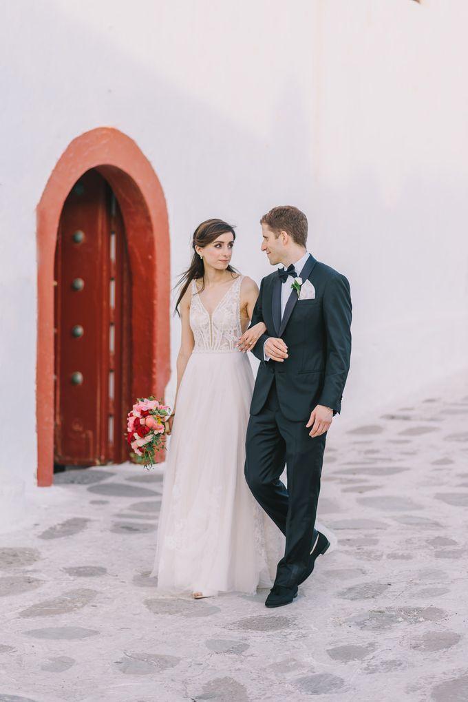 Wedding in Mykonos by Elias Kordelakos - 027