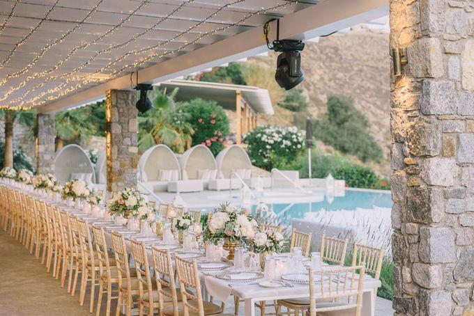 Wedding in Mykonos by Elias Kordelakos - 031