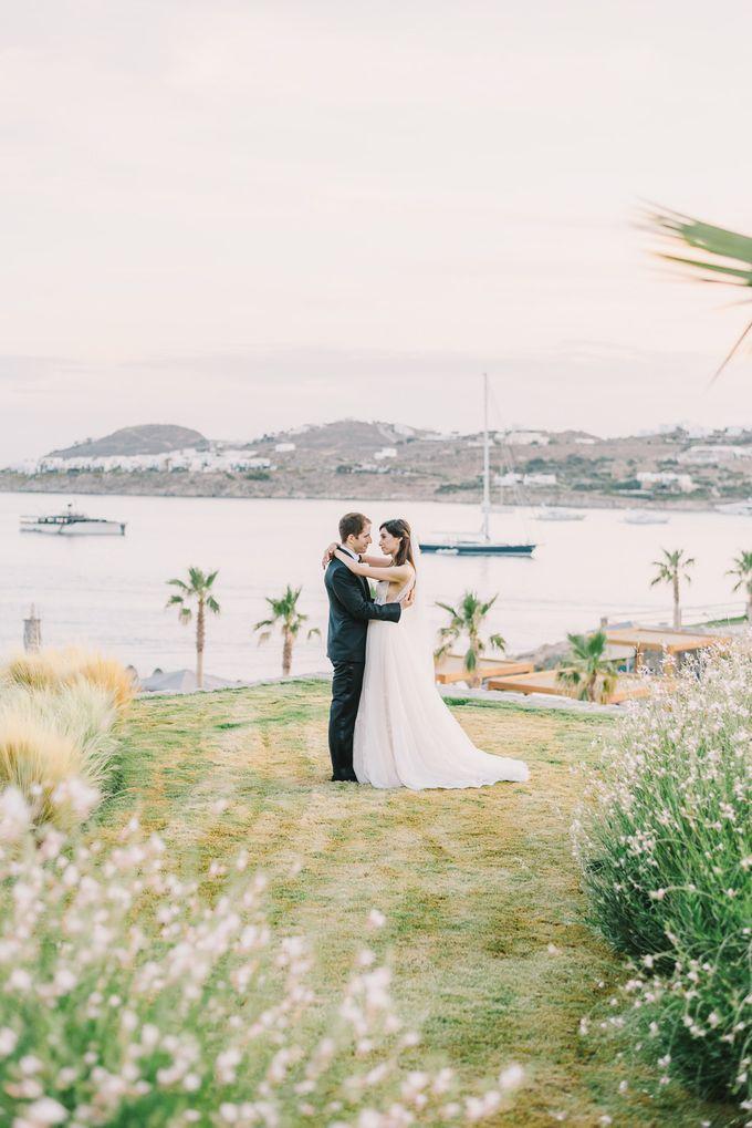 Wedding in Mykonos by Elias Kordelakos - 035