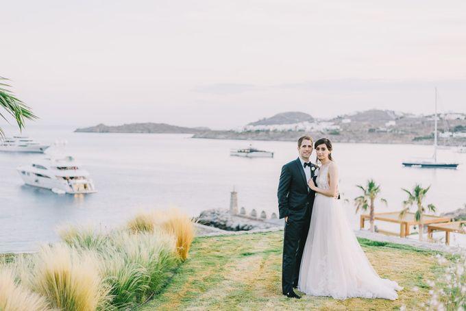 Wedding in Mykonos by Elias Kordelakos - 036