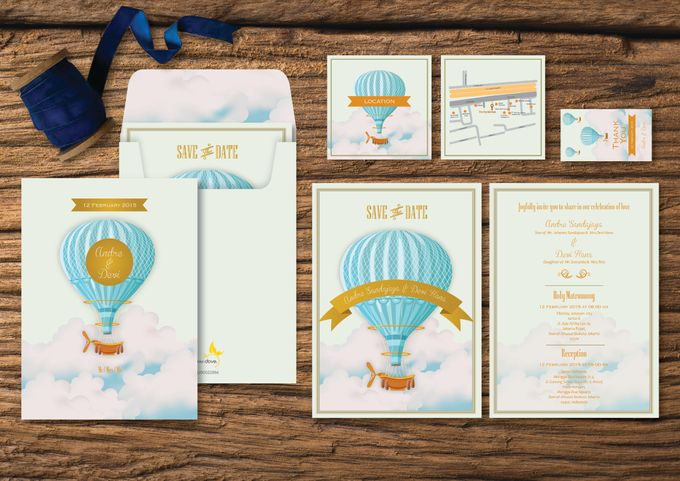 Wedding Invitation by Golden Dove - 001