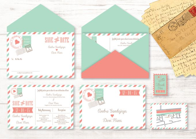 Wedding Invitation by Golden Dove - 006