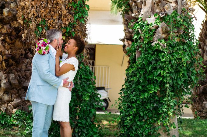 An Afro American wedding in Greece by MarrymeinGreece - 015