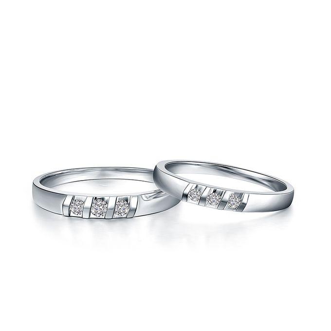 Tiaria Destiny Diamond Ring Perhiasan Cincin Pernikahan Emas dan Berlian by TIARIA - 001