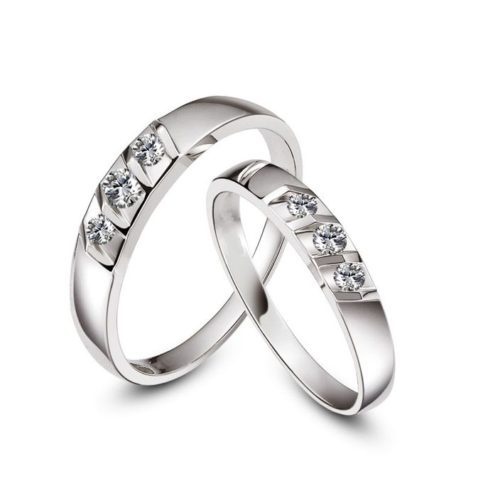 Tiaria Destiny Diamond Ring Perhiasan Cincin Pernikahan Emas dan Berlian by TIARIA - 002