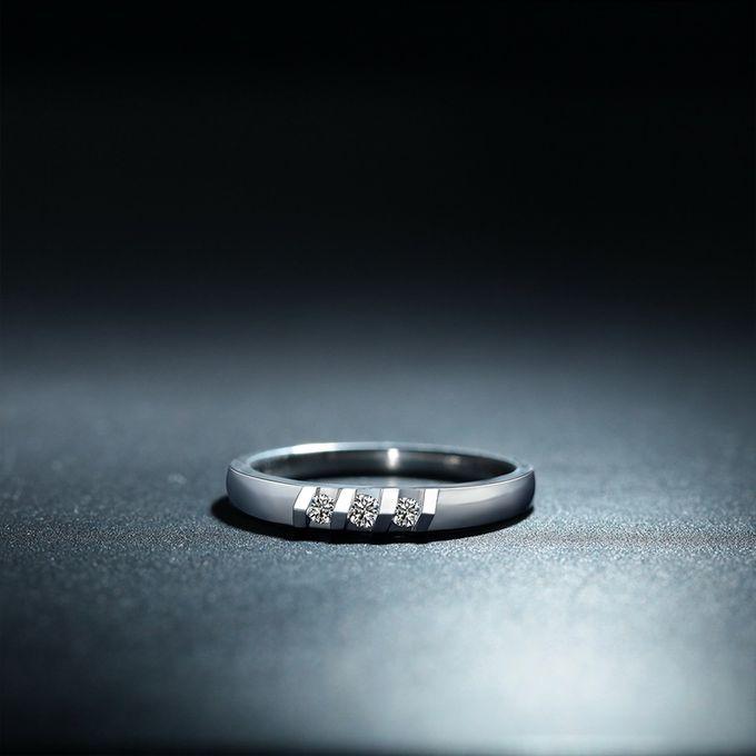 Tiaria Destiny Diamond Ring Perhiasan Cincin Pernikahan Emas dan Berlian by TIARIA - 003