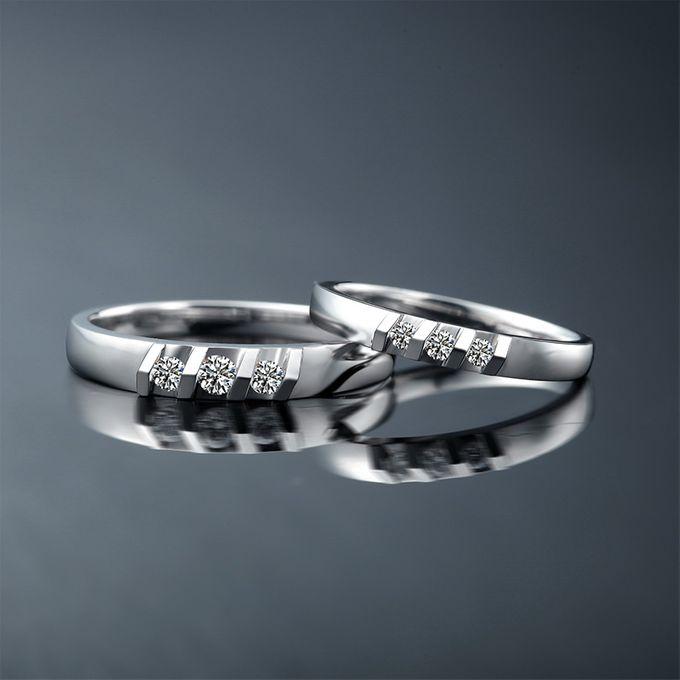 Tiaria Destiny Diamond Ring Perhiasan Cincin Pernikahan Emas dan Berlian by TIARIA - 004