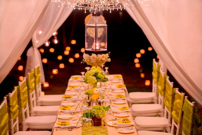 kayumanis ubud-dinner reception- pathway by Kayumanis Private Villa and Spa - 006