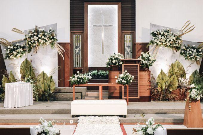 The Wedding of Devara and Rara by Elior Design - 007