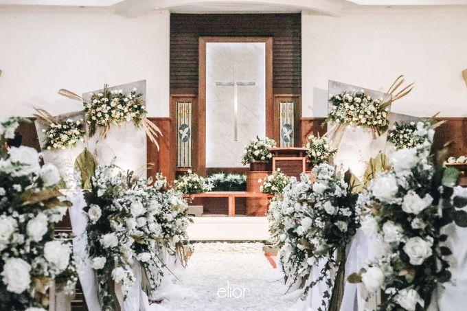 The Wedding of Devara and Rara by Elior Design - 008