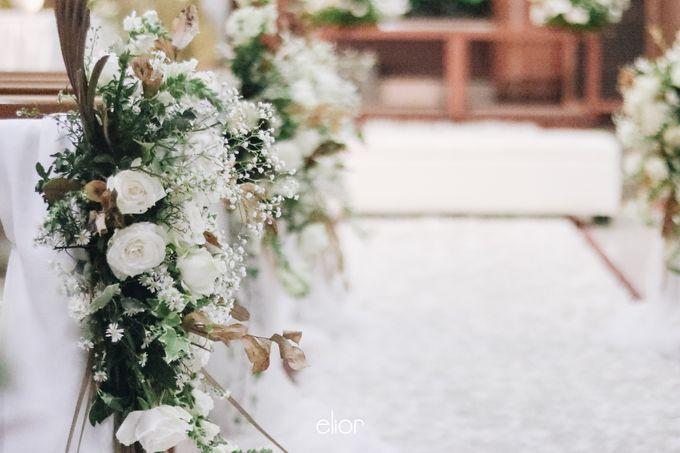 The Wedding of Devara and Rara by Elior Design - 010