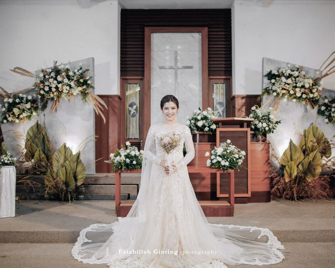 The Wedding of Devara and Rara by Elior Design - 009