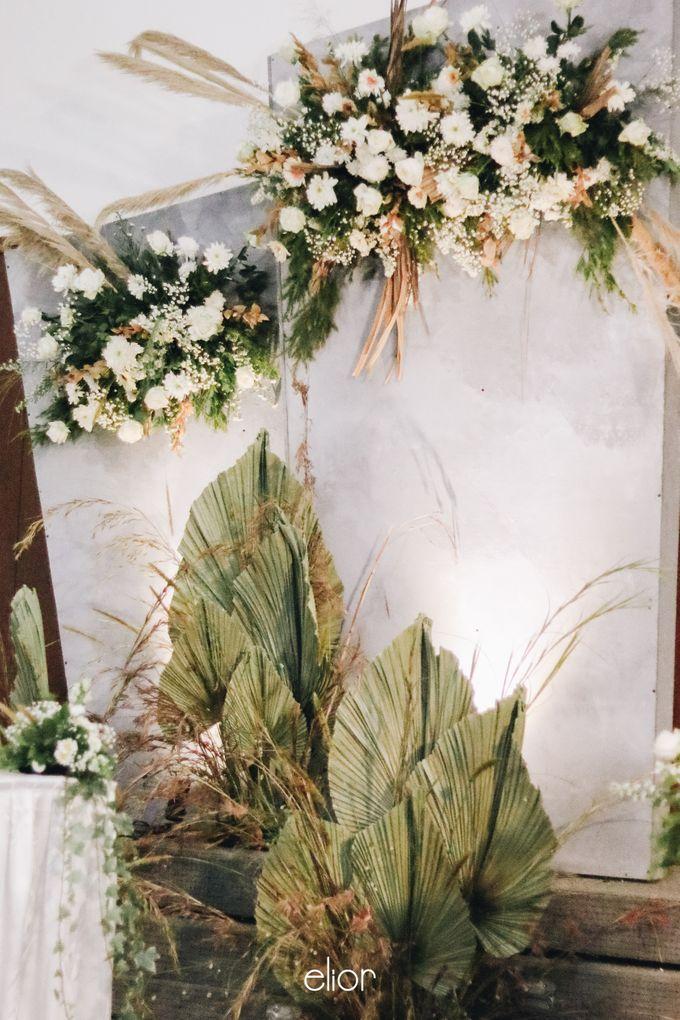 The Wedding of Devara and Rara by Elior Design - 012