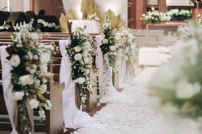 The Wedding of Devara and Rara by Elior Design - 013