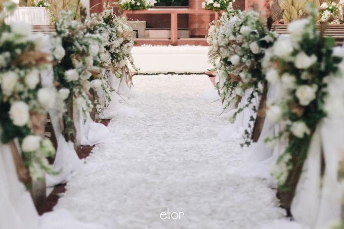 The Wedding of Devara and Rara by Elior Design - 014