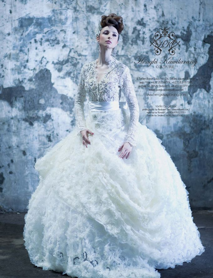BRIDAL GOWN vol 01 by HK Bride by Hengki Kawilarang - 001